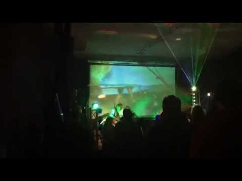 Live Video Projection for Andy Coe Band at Olympia Ballroom