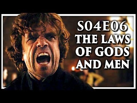 Game Of Thrones Season 4 Episode 6 'The Laws Of Gods And Men' Discussion And Review (S4E6)