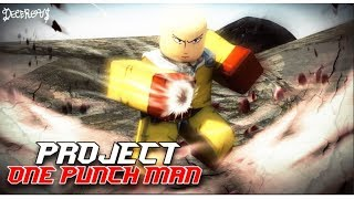 Roblox | The Power Of One Punch Man And Ninja | Project OPM — | MinhMaMA