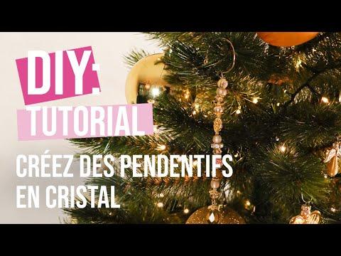 DIY Tutoriel: Créez des pendentifs en cristal