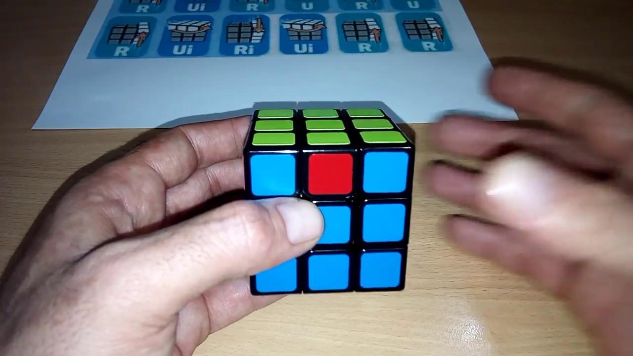 طريقة حل مكعب روبيك للمبتدئين Pdf