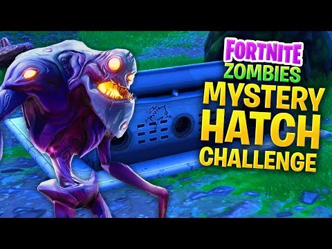👾 FORTNITE Mystery Hatch Challenge (Call of Duty Zombies Mod)