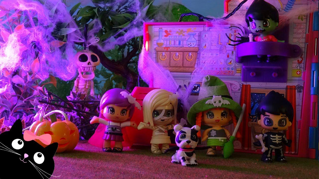 Casa del terror de los pinymonsters juguetes pinypon - Casa de los juguetes ...