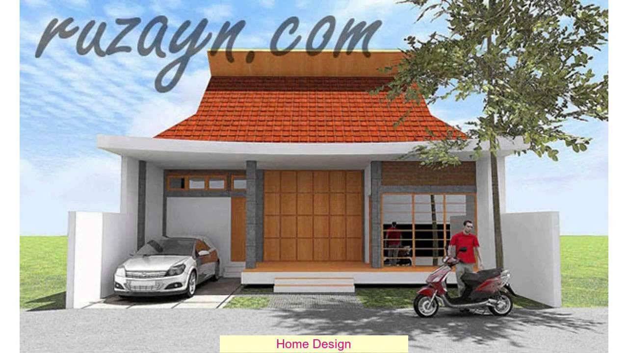 Desain Rumah Joglo Klasik Youtube