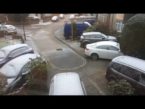 live Snow in Hounslow London