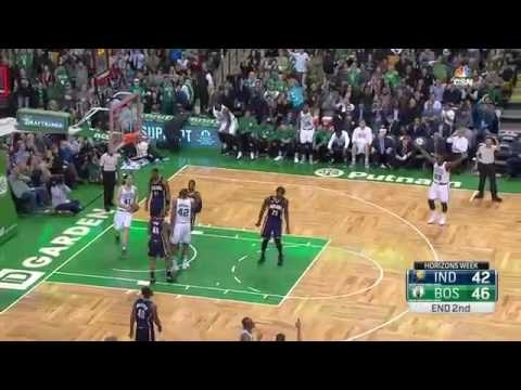 Avery Bradley Halftime Buzzer Beater | Pacers vs Celtics | March 22, 2017 | 2016-17 NBA Season J-MBA