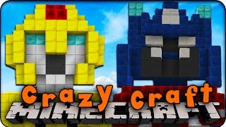 play crazy craft minecraft mods craft 2 0 ep 115 transformers 2713