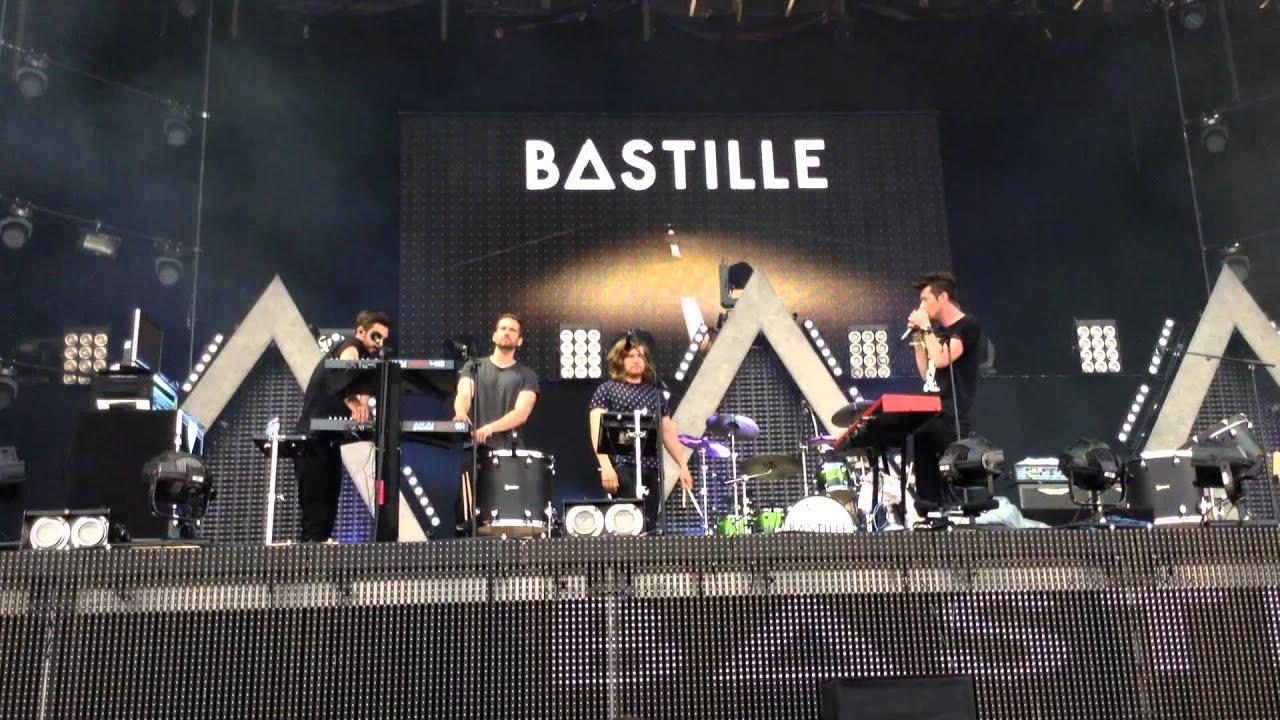 Bastille Live - Overjoyed Concert Sea 27 06 2014