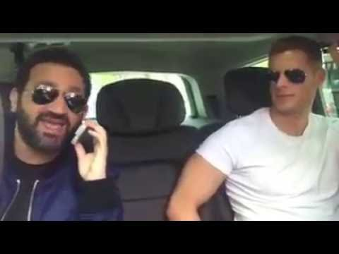 cyril hanouna coute du m pokora dans sa voiture part 1 youtube. Black Bedroom Furniture Sets. Home Design Ideas