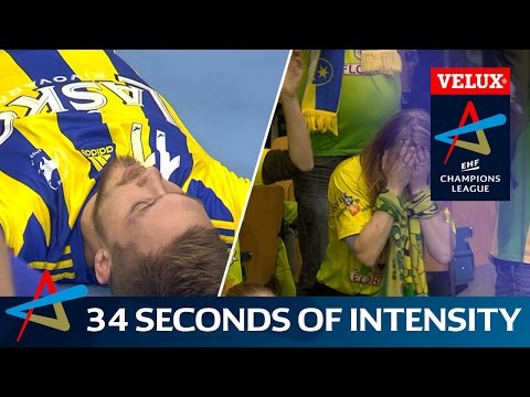 34 seconds of intensity with Celje and Brest | VELUX EHF Champions League