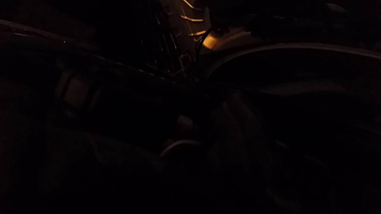 Mercedes w211 vibration problem