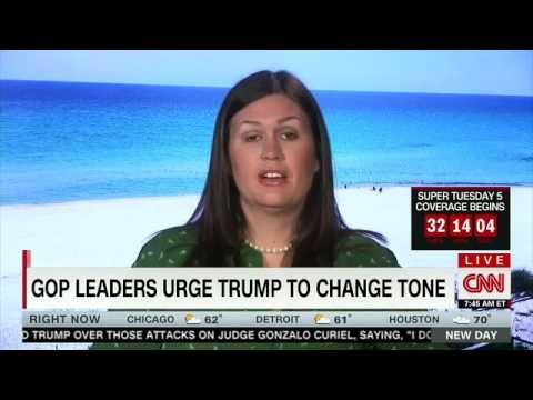 Sarah Huckabee Sanders: