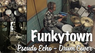 Pseudo Echo Funkytown Drum Cover original by Lipps, Inc..mp3