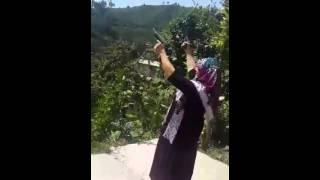 Karadeniz Kadınları Böyledir Silahtan Korkmaz :D
