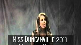 Miss Duncanville 2011 Michelle Hanson
