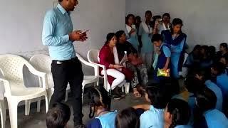 Hindi Divas + Baal Sabha 14 September 2019 Celebrate Blind Divyang Girl's Student at Lucknow