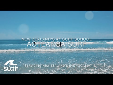 Fun & easy surf lessons with Aotearoa Surf School