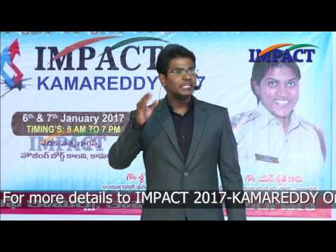 6 Success Rules by KVN Karthik at IMPACT Kamareddy  2017
