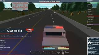 BoA runs a red then runs from MPD (ROBLOX nUSA)
