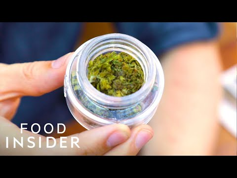 Get High In The Country's First Cannabis Café | Line Around The Block