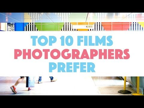 TOP 10 Films Stocks Photographers Prefer