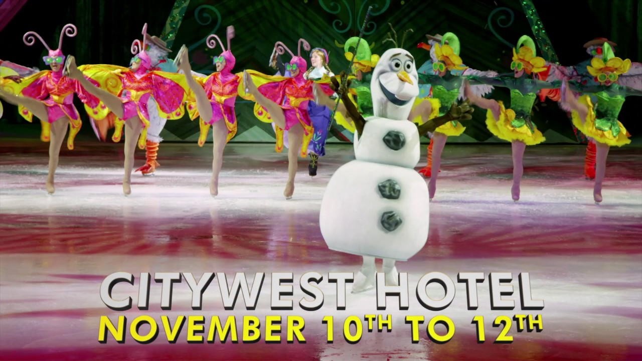 Disney On Ice Passport To Adventure At City West Hotel 10th 12th November 2017