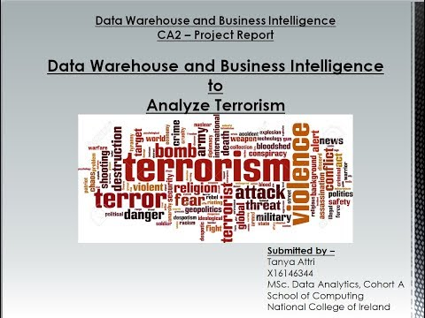 DWBI - CA2 - Terrorism Analysis