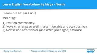 Learn English Vocabulary by Maya - Nestle