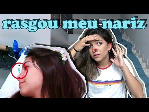 O PIERCING RASGOU Meu NARIZ (terça Com T) | Ana Laura Lopes