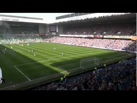 Rangers 3 Celtic 2...Amazing Penny Arcade & Blue Sea Of Ibrox  -  High Quality