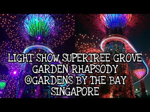 EPIC!!! GARDEN RHAPSODY||LIGHT SHOW SUPERTREE GROVE @GARDENS BY THE BAY - SINGAPORE