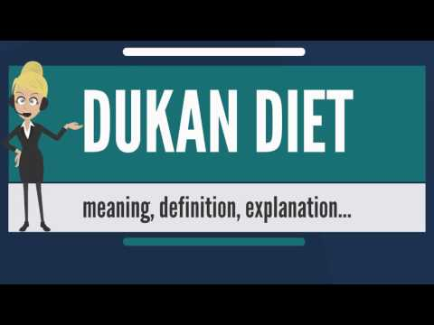 What is DUKAN DIET? What does DUKAN DIET mean? DUKAN DIET meaning, definition & explanation