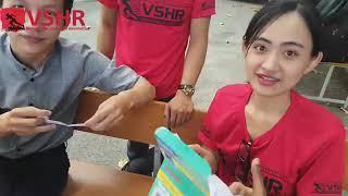 Vietnam health festival at University of Finance and Marketing University by VSHR