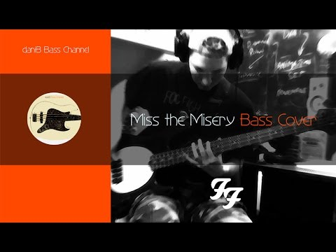 Foo Fighters Miss The Misery Bass Cover Tabs Danib5000 Youtube