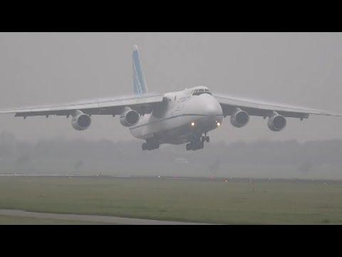 UR-82073 Antonov Airlines (Antonov Design Bureau)  landing at AMS Schiphol