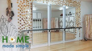 Sequined Border Wall | Home Made Simple | Oprah Winfrey Network
