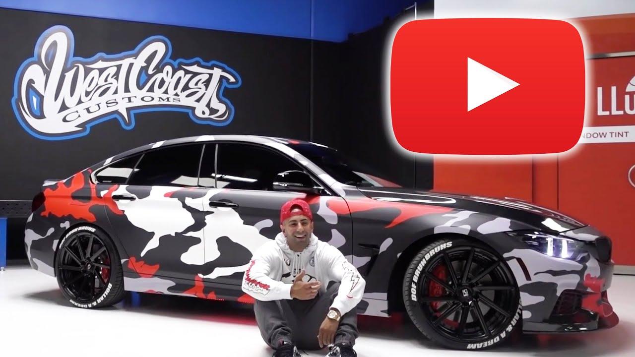Range Rover Car Wallpaper Top 5 Youtuber Car Wraps Youtube