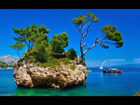 Relaxing video CROATIA beaches sounds of waves of Croatian coast  NATURE  HD 1080p