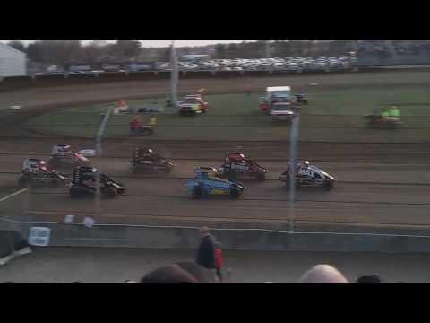 USAC Midgets Heat 3 Kokomo Speedway 4/6/19