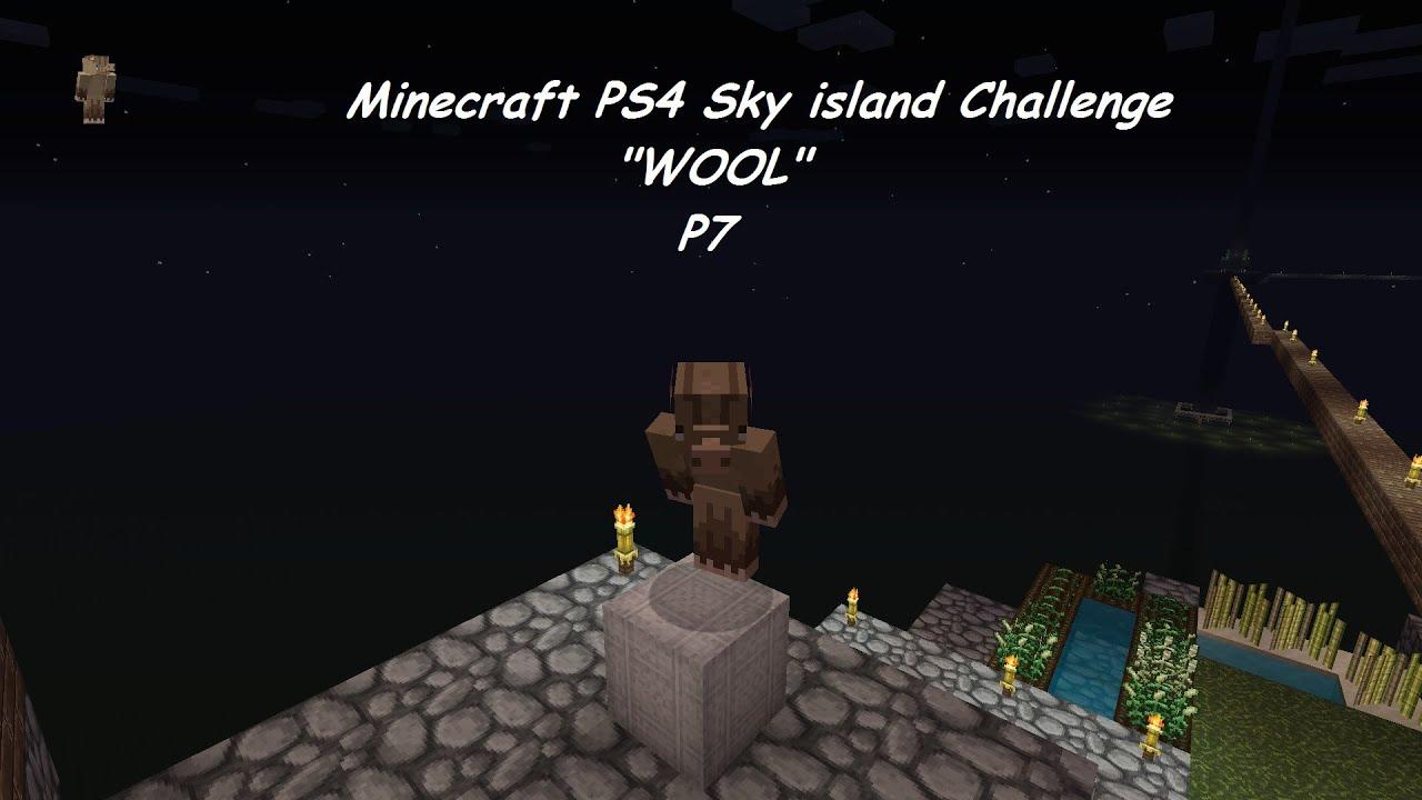 Minecraft sky island lets play