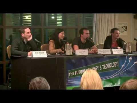 Joyce Kim, Jed McCaleb, Greg Brockman, and Dan Rosen