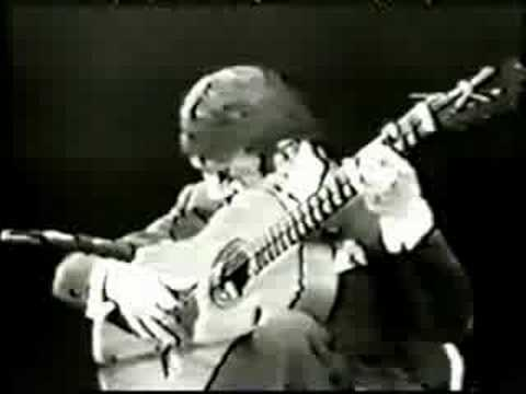 Rare Flamenco Guitar Video: Sabicas - Farruca