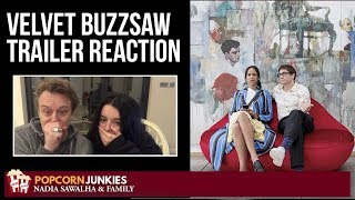 Velvet Buzzsaw (Netflix Movie) Official Trailer - Popcorn Junkies & Nadia Sawalha Reaction