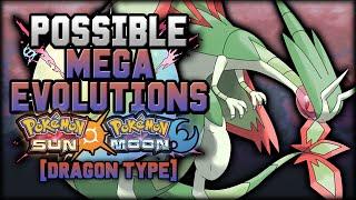 New Mega Evolutions In Pokemon Sun And Moon [Dragon Types]