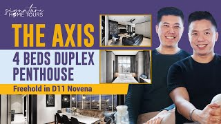 The Axis: Beautiful Exclusive Freehold Duplex Penthouse in District 11 ($2.95M. Singapore Condo)