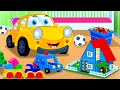Lets Build | Ralph And Rocky | Car Song For Children | Car Cartoons from Kids Tv Channel