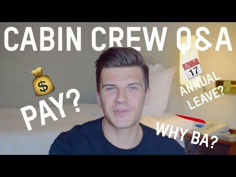 BRITISH AIRWAYS CABIN CREW Q&A