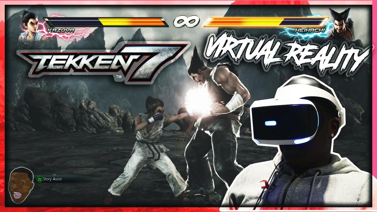 Tekken 7 Vr Story Mode Prologue Gameplay Ps4
