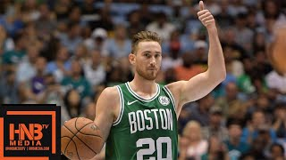 Gordon Hayward 2018 NBA Preseason Highlights