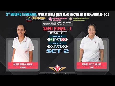 SF-1(WS)| SET-2 | AISHA KHOKAWALA (MUMBAI) VS MINAL LELE-KHARE (THANE)